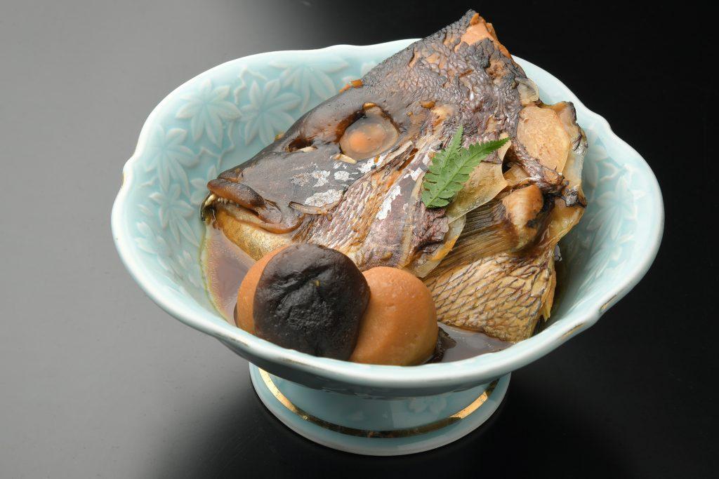 真鯛のかぶと煮